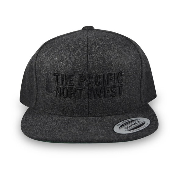 PNW Snapback Hat Pacific Northwest Hat The PNW Cap Pine  4a9517bbe7f