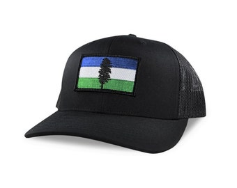PNW Trucker Hat, Pacific Northwest Hat, Cascadia Hat, Cascadia,Pacific Northwest Cap, PNW Hat