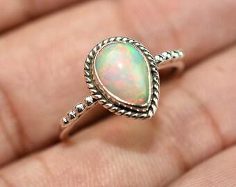 Ethiopian Opal Ring Etsy