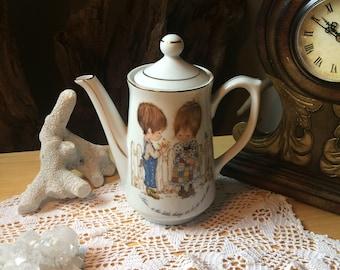 433d2245ebaebc Holly Hobbie amore teiera/Petticoats e pantaloons/teiera da collezione/Made  in Giappone/1970' s decor/tè time/pranzo tè/his e lei Teapot