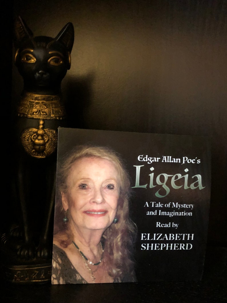 Elizabeth Shepherd Autographed Ligeia CD image 0
