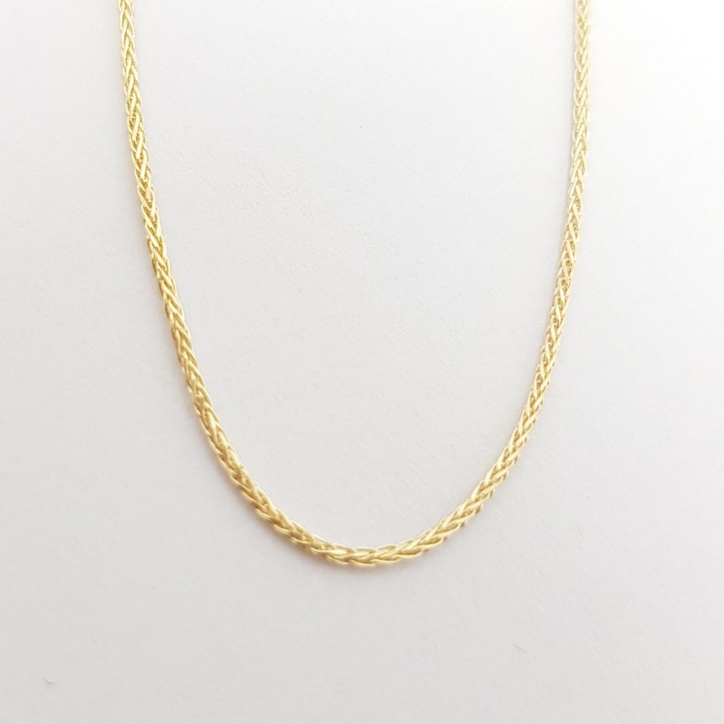 0.85 mm thick Beautiful 20/'/' Classic 14K Gold Thin Chain