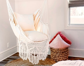 Hanging Chair In Bedroom Etsy