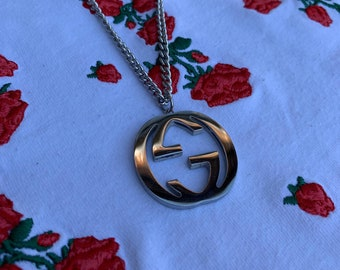 4321ff69fd4 GG Gucci Necklace Stainless Steel - Gold   Silver