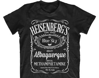 763d9bdf520b Heisenberg's Blue Sky Crystal Meth JD Style Men's Breaking Bad T-Shirt