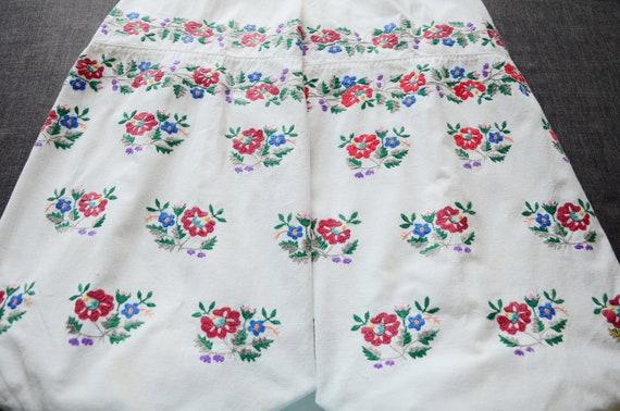Lovely antique dress Antique cotton dress Ukrainia