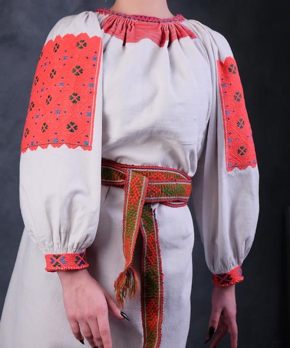 Rare Romanian dress Romanian vintage dress Romani… - image 6