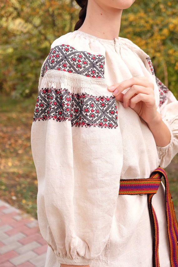 Geometry pattern Rare technique embroidery Beauti… - image 3
