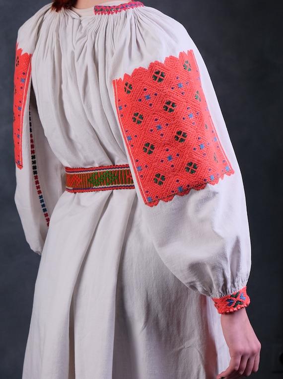 Rare Romanian dress Romanian vintage dress Romani… - image 7