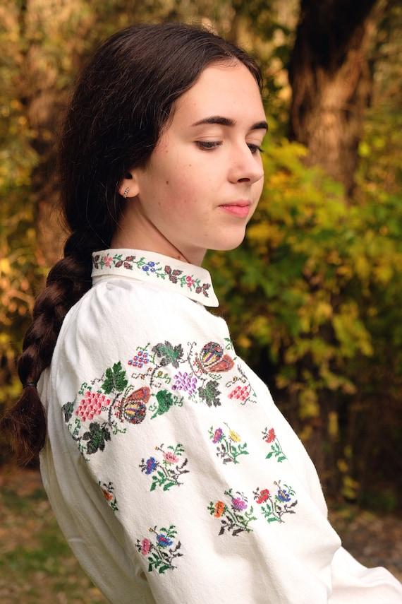 LINEN DRESS Pure linen homespun dress Interesting