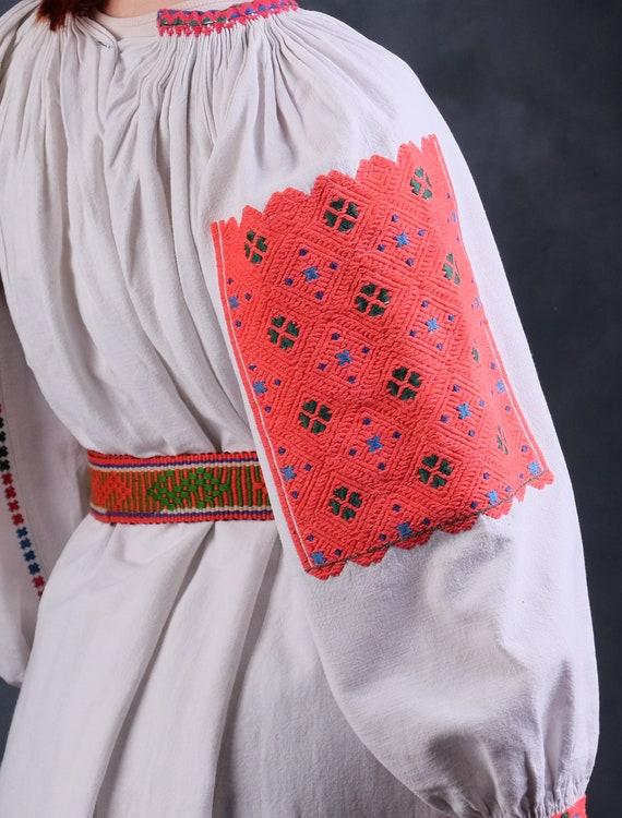 Rare Romanian dress Romanian vintage dress Romani… - image 8