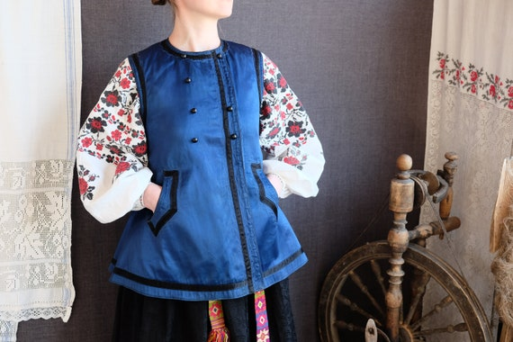 EXTRAORDINARY antique vest! Incredible Ukrainian v