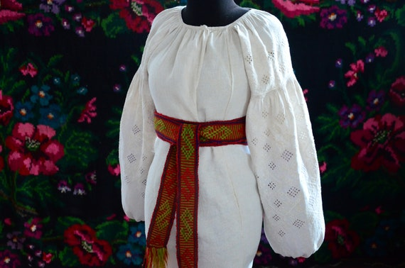 COLLECTIBLE Ukrainian dress!!! Unique cutting wor… - image 6