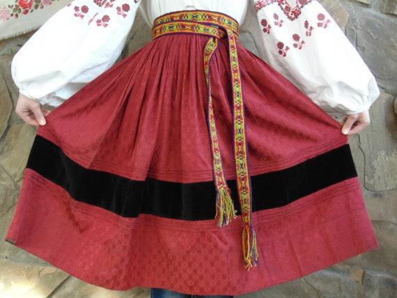 RARE SKIRT Luxurious antique skirt Very beautiful