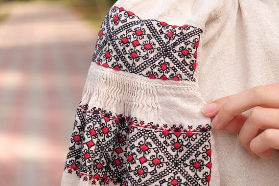 Geometry pattern Rare technique embroidery Beauti… - image 7