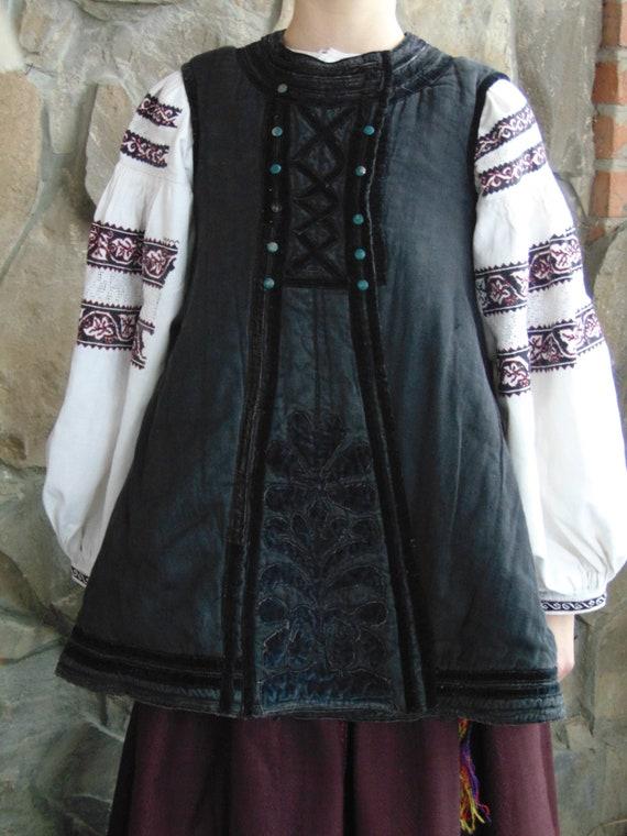 Rare antique vest!!! Antique Ukrainian vest Ukrain