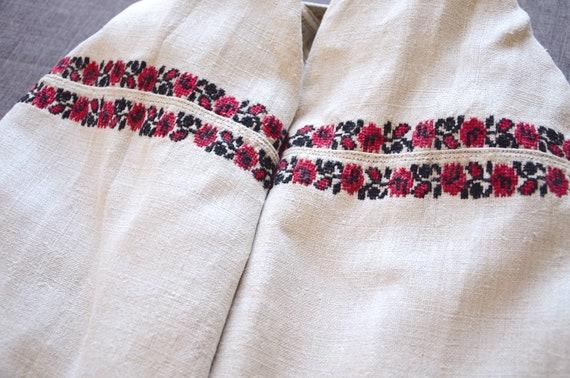 Beautiful everyday dress Hemp dress Antique dress