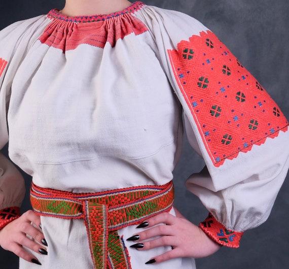 Rare Romanian dress Romanian vintage dress Romani… - image 5