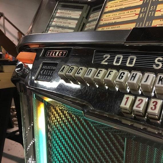 Original Wurlitzer 2000 Centennial Vinyl Jukebox