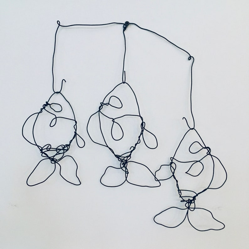 Three Wire Fish  Catch of the day   Wall Art image 0