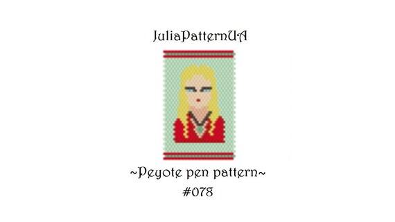 produse de calitate pret nebun ieftin de vânzare Peyote pen wrap pattern Cercei Lannister Game of thrones G2 | Etsy