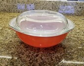 Vintage Pyrex Friendship Covered Casserole Dish