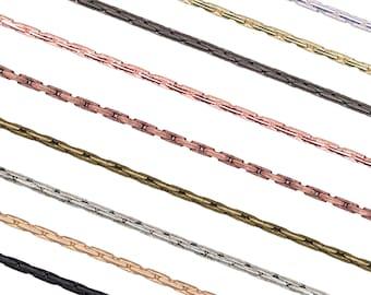 6ft. Brass Snake Chain 2.4mm