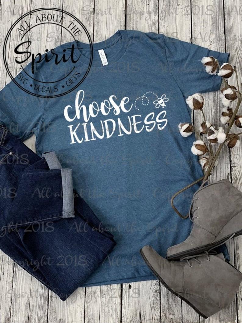 57b68bc3 Choose Kindness Christian t-shirt kindness t-shirt | Etsy