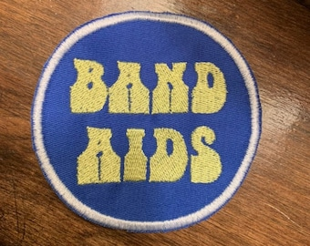 BAND AIDS almost famous tribute patch Handmade
