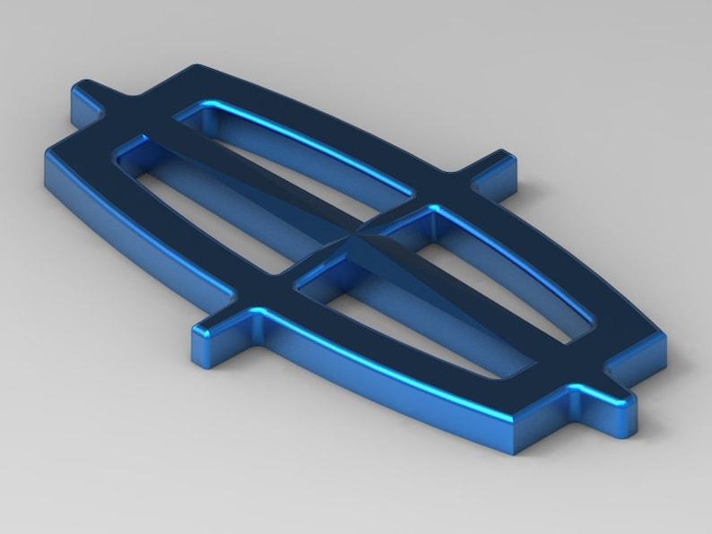 Lincoln Insignia Logo 3D Printable STL File