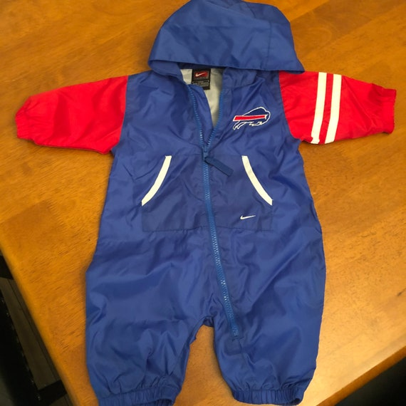 Nike Buffalo Bills Vintage Baby Windbreaker Suit