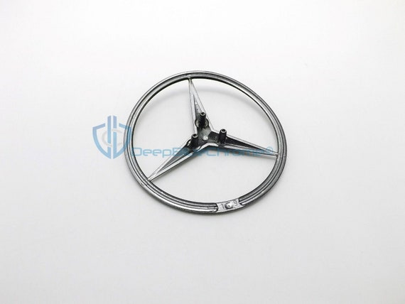 New Genuine Mercedes-Benz MB W220 S Rear Trunk Boot Badge Emblem 2207580058