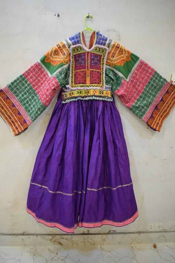 Afghan vintage pashtun kuchi dress Vintage Kuchi T
