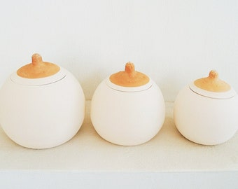 Salt Pot Unique Multi Use Pot One of a Kind Mini Sugar Bowl Keepsake Box Markdown Seconds Merlot Lidded Pot