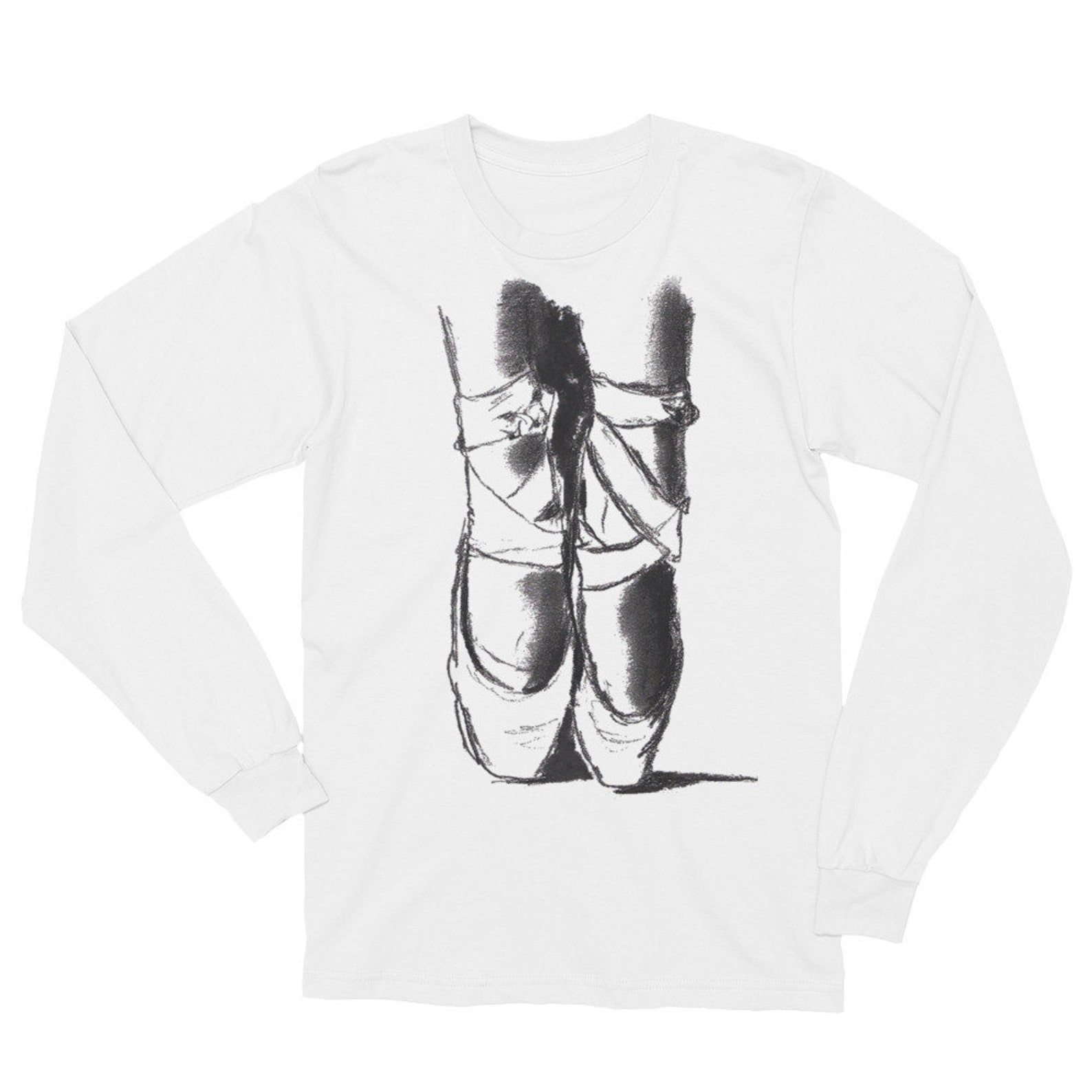 ballet shoes unisex long sleeve t-shirt
