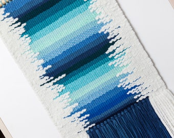 Wall Hanging Woven Tapestry Weaving
