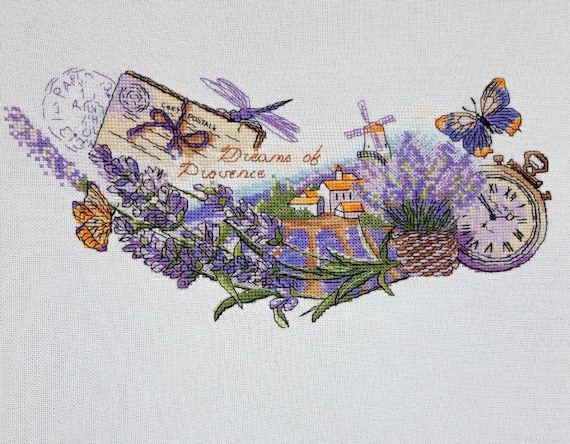 DIY Counted Cross Stitch Patterns Needlework embroidery Flower of Dream