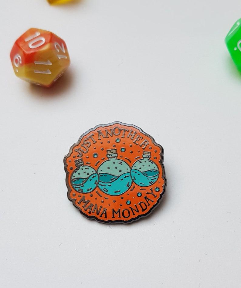 Mana potion D&D fantasy pin, Dungeons and dragons gift pin