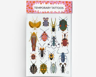 Bugs A6 Temporary Tattoos