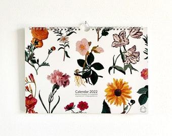 2022 Flower Calendar