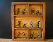 Collection quot WWII quot lead soldiers - antique Britains Johillco, Cherilea and Co. Crescent toy soldiers