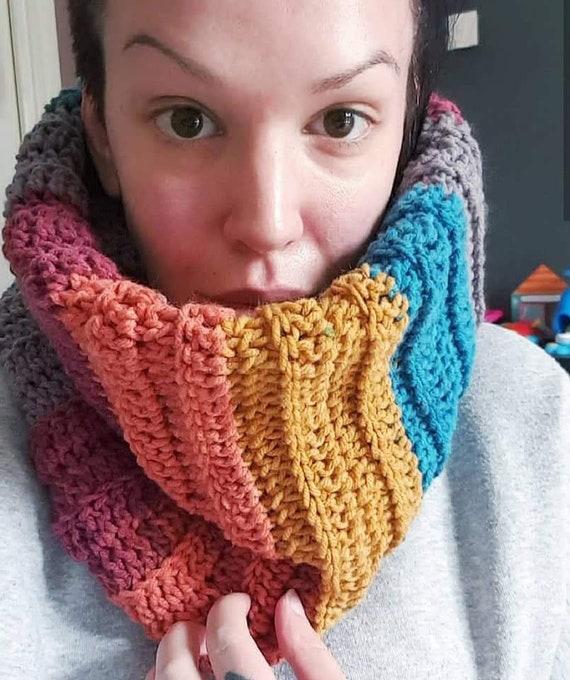 Crochet snood   cowl   scarf  e8e51430a76