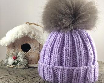 267d6da5d40 Baby Pom Pom Hat