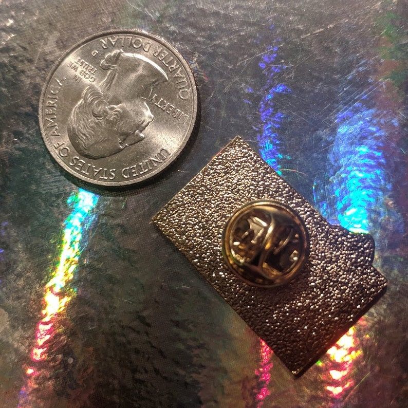 Ouija New Phone Who Dis Board Soft Metal Enamel Pin