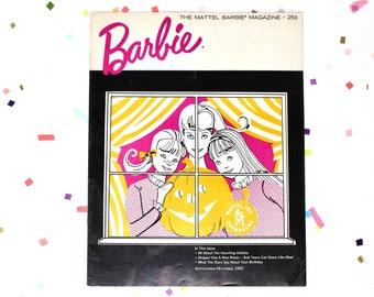 Rare Halloween Barbie Magazine September October 1965, Vintage 60s Barbie Book with Halloween Activities