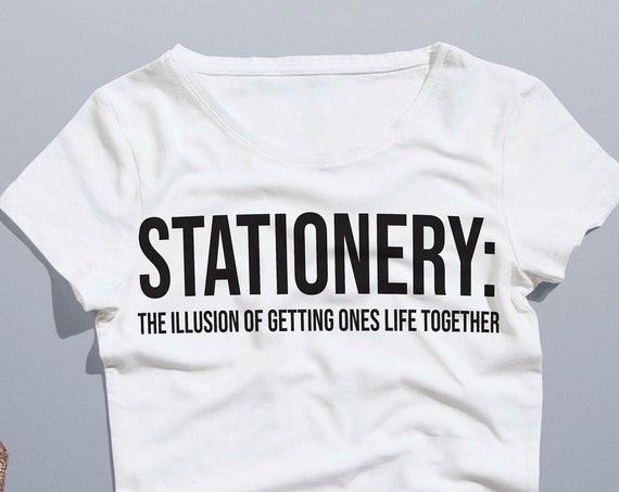 Stationery Definition