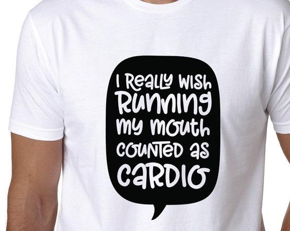Workout Shirt - Running Mouth