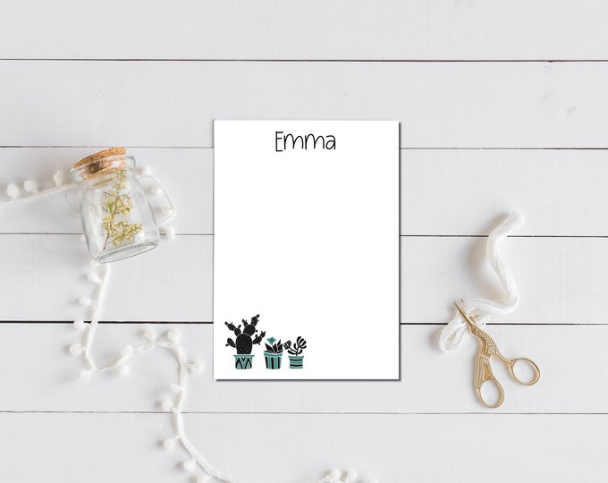 3 Plants Notepad