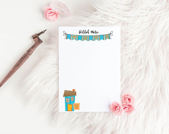 Welcome Home Personalized Notepads