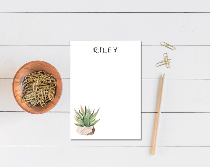 Featured listing image: Succulent Notepad